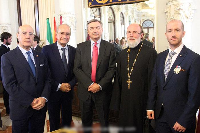 Prince-Jorge-Rurikovich-Russian-Ambassador-Yuri-Korchagin-Francisco-de-la-Torre-Ricardo-Bocanegra-Father-Dimitry-Osipenko
