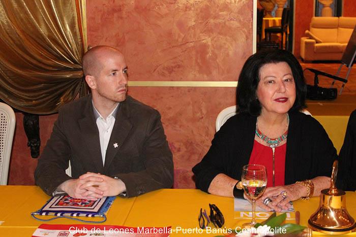 Prince-Jorge-Rurikovich-Maria-Dominique-Blohorn-Alliance-Francophone-Lions-Club-International-Puerto Banus-Marbella