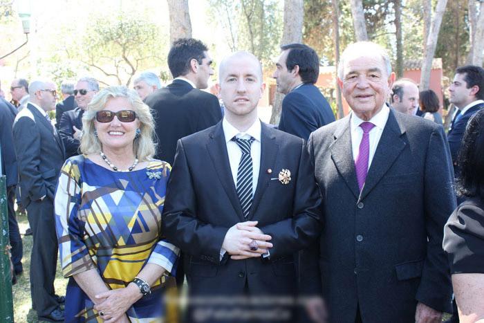 Prince Jorge Rurikovich Princess Carmen de Ulloa Y Suelves Conde Rudi
