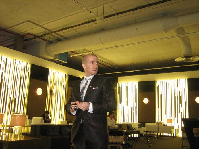 Prince Jorge Cabrera Rurikovich luxury event